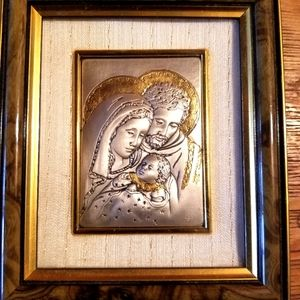 Vanessa Geoielli STERLING SILVER pic MARY JESUS